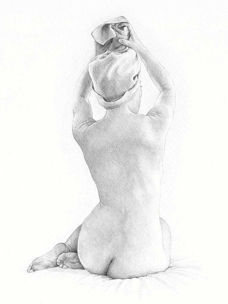 ritratti a matita nudi