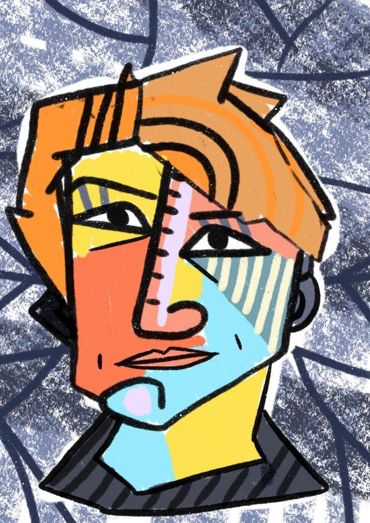 ritratti cubismo