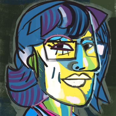 ritratti cubisti