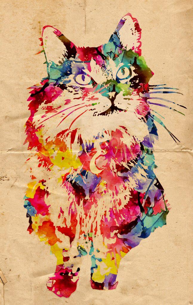 ritratti gatti